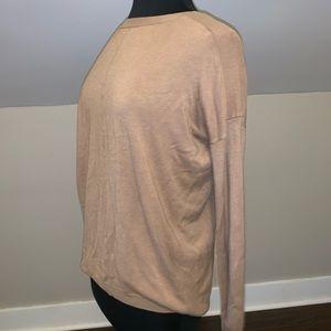 Brown tunic sweater